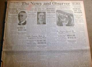 1929 newspapers ST VALENTINES DAY MASSACRE Capone Gan