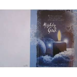 Church Bulletins (Advent week 2 of 4, CPH 84 0837 14 Preminum For to