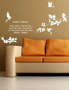 Secret Adhesive Removable Wall Decor Accents Graphic Stickers & Vinyl