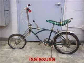 1972 SCHWINN STINGRAY PEA PICKER VINTAGE BICYCLE