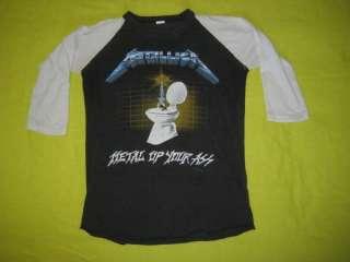 1985 METALLICA MUYA VTG TOUR JERSEY t shirt ORIGINAL OG