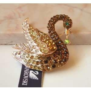 Quality Pure Austrian Swarovski Crystal with Gorgeous Swan Designs