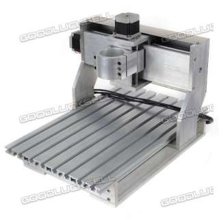 Axis DIY CNC 3025 Router Engraver Machine With Rotational Claw 3