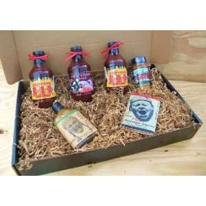 Oklahoma Joes Kansas City Barbecue Sauce Deluxe Gourmet Box Set