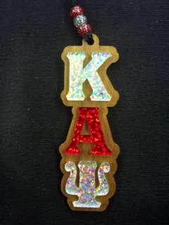 Kappa Alpha Psi Glitter Letter Teekee Tiki