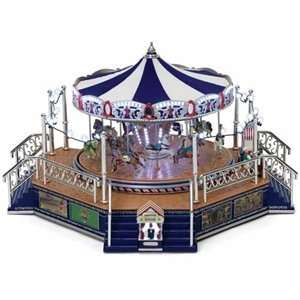 Mr. Christmas Worlds Fair Platinum Boardwalk Carousel Home & Kitchen