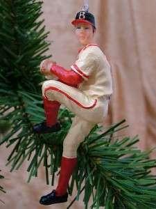 New Baseball Player Glove Ball Pitcher Sports Ornament