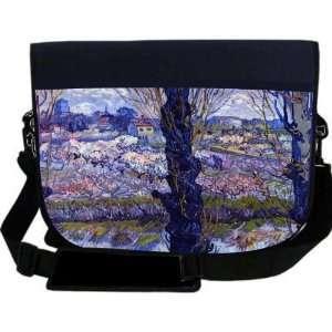 Van Gogh Art View of Arle NEOPRENE Laptop Sleeve Bag
