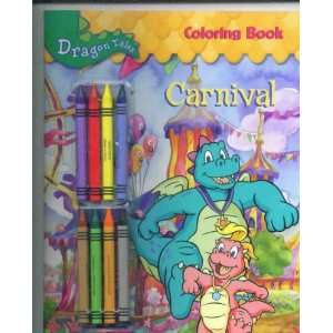 Dragon Tales Coloring Book CARNIVAL 4457 32 2 Rod