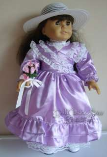 DOLL CLOTHES fits American Girl Samantha Bridesmaid Set
