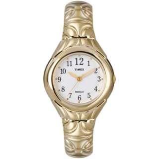 Timex Womens T2M814 Classic Gold Tone Bracelet Watch