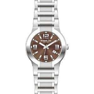 Kenneth Cole Reaction Mens Brown Dial Watch KC3557 NEW
