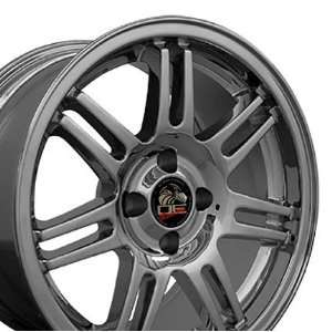 10th Anniversary 4 Lug Deep Dish Style Wheels Fits Mustang