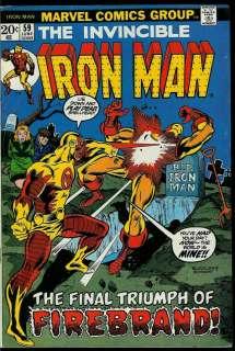 for larger view iron man 1968 series v1 58 mandarin unicorn vg fn