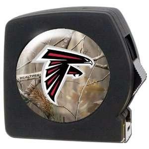 Atlanta Falcons NFL Open Field 25 foot Tape Measure