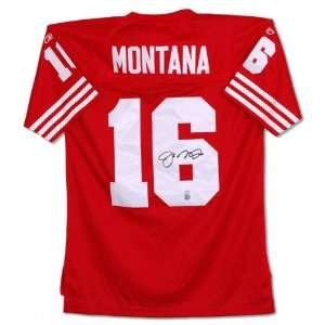 Joe Montana San Francisco 49ers Autographed Reebok Jersey
