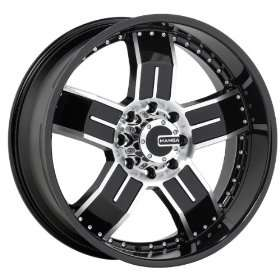 Mamba Type M8 (Black / Machined) Wheels/Rims 5x139.7 (MAMM8 2285B+20