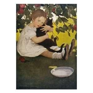 Cat by Jessie Willcox Smith Giclee Poster Print