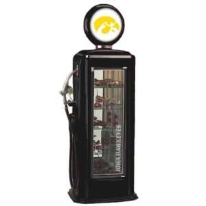University of Iowa Hawkeyes Gas Pump Display Case  Sports