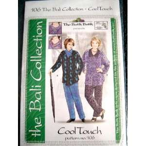 BALI COLLECTION   COOL TOUCH #106 SEWING PATTERN FROM THE BATIK BUTIK