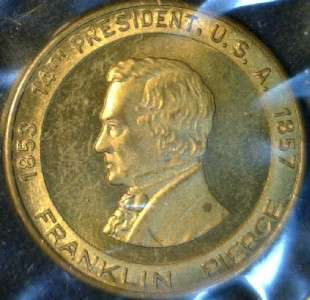 Pierce MINT VER #2 Commemorative Bronze Medal   Token   Coin