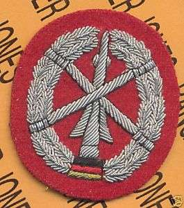 BRD GERMAN Army Bundeswehr ADA Arty beret flash patch