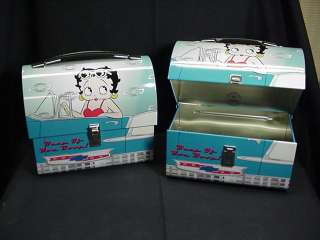 Betty Boop LUNCH BOX CHEVY DOMED DESIGN