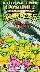 Teenage Mutant Ninja Turtles Out of This World   Return of the