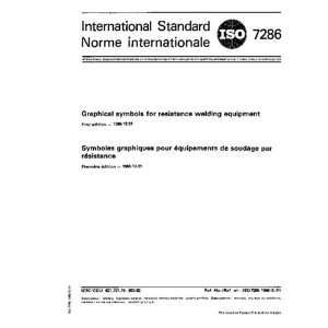 ISO 72861986, Graphical symbols for resistance welding equipment ISO