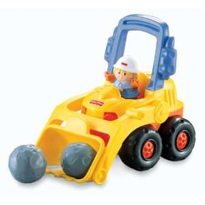 Fisher Price Little People Bulldozer Toys & Games