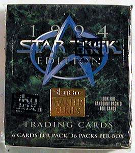 1994 Star Trek Master Series 2 Sealed Trading Card Box