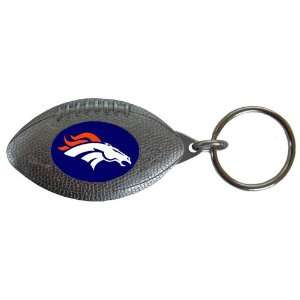 Denver Broncos NFL Football Key Tag