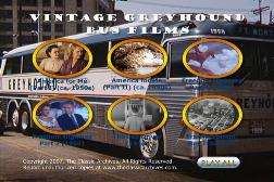 RARE BUS TRAVEL BY GREYHOUND AND TOUR FILMS ON DVD  J31