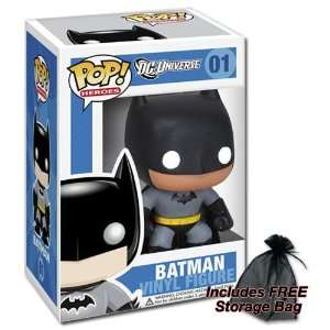 Funko Batman POP Heroes with FREE Storage Bag: Toys & Games