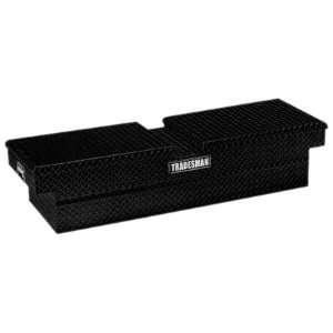 : Tradesman TALG581BK 70 Gull Wing Black Aluminum Cross Bed Tool Box