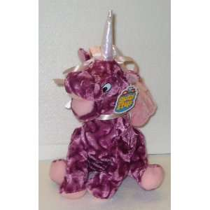 12 Purple Unicorn Plush Stuffed Toy Doll: Toys & Games