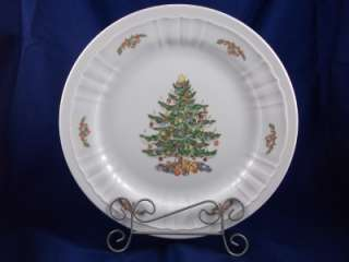 Eschenbach Porcelain Christmas Tree Holiday Chop Plate Bavaria Germany