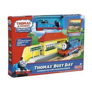 THOMAS BUSY DAY Train Set with Motorized Engiine, NEW, Fisher Price
