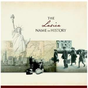 The Lasica Name in History Ancestry Books