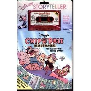 Chip N Dale   Rescue Rangers   Read Along Book & Cassette Tape