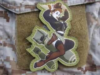 WWII BOMBER GIRL PINUP MORALE PATCH USAF AIR FORCE B17 B29 PILOT