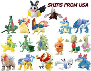 Pokemon Monster Collection Figure Set Of 18