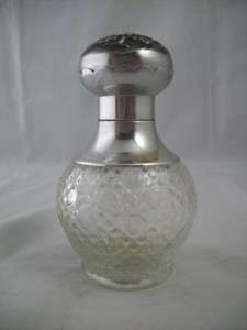 Vintage Avon Glass Bird of Paradise Cologne Mist Bottle
