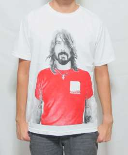 Dave Grohl Foo Fighters US Hard Rock MEN T SHIRT TOP L