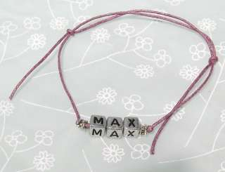 Friendship Bracelet   5 Name Options   Nathan Tom Max Siva Jay