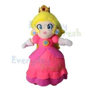 Nintendo Super Mario Bros 7 Princess Peach Plush Doll