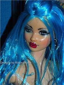 Ooak Tarina Tarantino Model Muse Barbie~Reroot~Repaint~Dressed