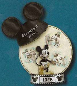 BRADFORD EXCHANGE DISNEY *MICKEY MOUSE STEAMBOAT WILLIE* PLATE, FREE S