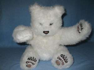Fur Real Friends Tiger Electronics Luv Cubs Bear White