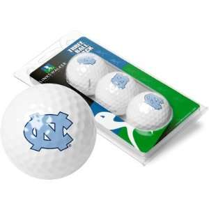 North Carolina Tar Heels UNC NCAA Golf Ball Pack Sports